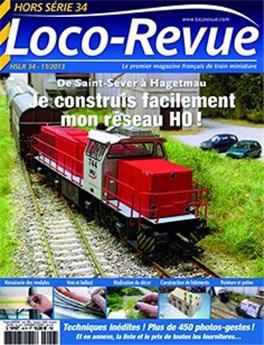 HSLR34 (hors série 11/2013) : Je construis facilement mon réseau H0 ! De Saint-Sever à Hagetmau