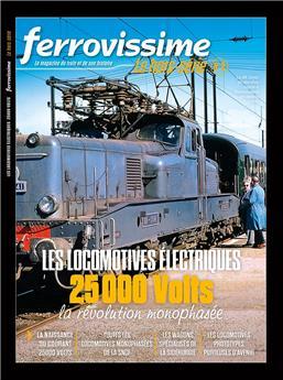 Hors-série Ferrovissime #2 : Les locomotives électriques 25 000 volts