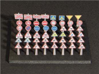 48 signaux routiers Dangers et Interdictions
