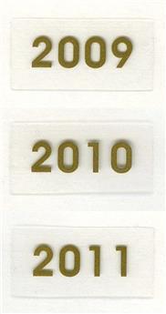 Millésimes 2009 à 2011