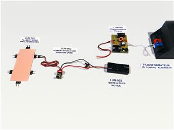 Convertisseur 17 V/4,5 V pour enseignes lumineuses