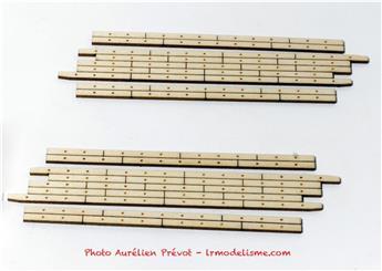 Planchers de PN biais à droite de 7m80