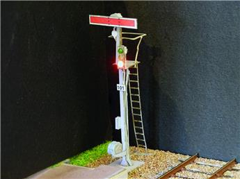 Kit de 4 Sémaphores mécaniques sur mât unifié