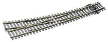 Aiguille enroulée à droite electrofrog rayon 1524mm / 762mm code 75