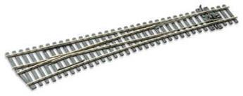 Aiguille courbe à gauche electrofrog rayon 1524mm code 75