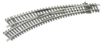 Aiguille courbe à gauche insulfrog R2/R3 code 100 Setrack