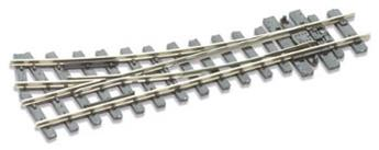 Aiguille H0e petit rayon à droite electrofrog rayon 304mm