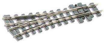 Aiguille H0e symétrique electrofrog rayon 457mm