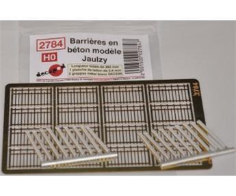 Barrières en béton modèle Jaulzy