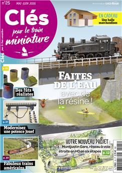 Clés pour le train miniature n° 25 version numérique