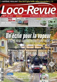 Loco-Revue n°827 juin 2016