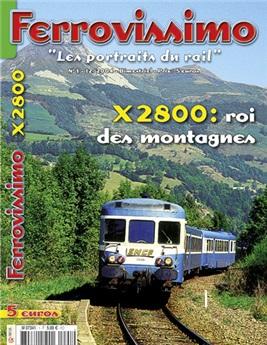 Ferrovissimo n°1 :  X2800