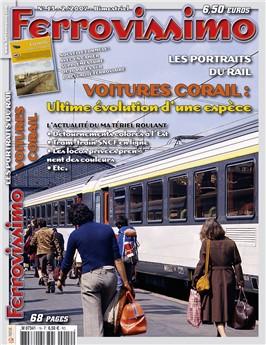 Ferrovissimo n° 13 : Les voitures Corail