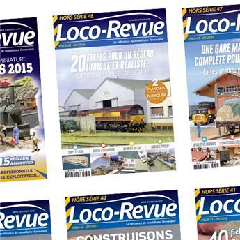 Abonnement Hors-Série Loco-Revue France 6 mois