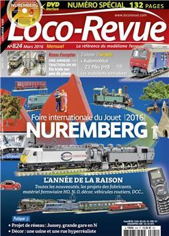 Loco-Revue n° 824 mars 2016