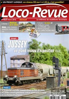 Loco-Revue n° 825 avril 2016
