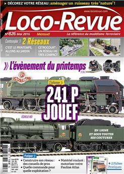 Loco-Revue n° 826 mai 2016