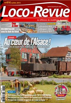 Loco-Revue n° 816 juillet 2015