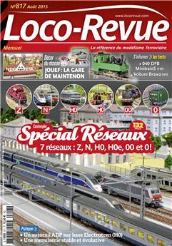 Loco-Revue n° 817 août 2015