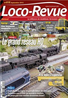 Loco-Revue n° 818 septembre 2015