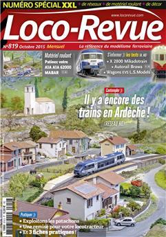 Loco-Revue n° 819 octobre 2015