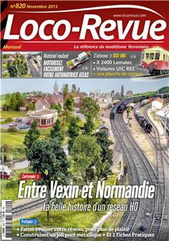 Loco-Revue n° 820 novembre 2015