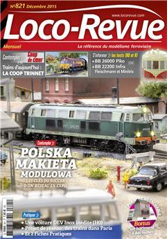 Loco-Revue n° 821 décembre 2015