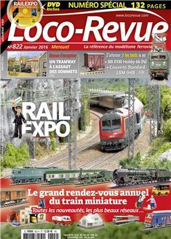 Loco-Revue n° 822 janvier 2016