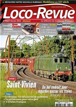 Loco-Revue n° 823 février 2016
