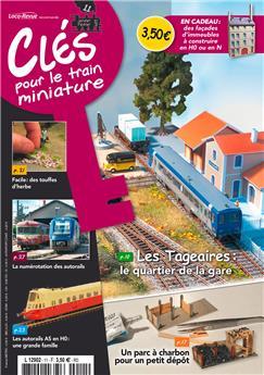 Clés pour le train miniature n° 11