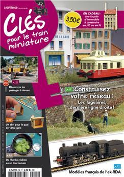Clés pour le train miniature n° 12