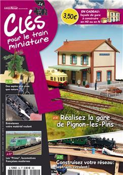 Clés pour le train miniature n° 14