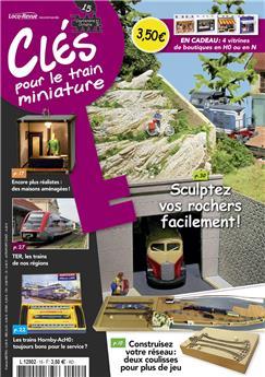 Clés pour le train miniature n° 15 version numérique
