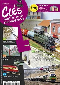 Clés pour le train miniature n° 16