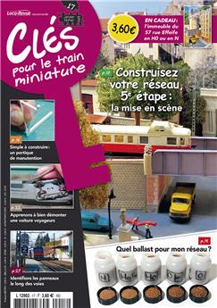 Clés pour le train miniature n° 17 version numérique