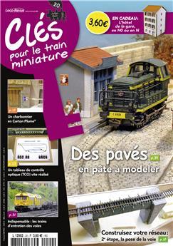 Clés pour le train miniature n° 20