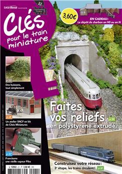 Clés pour le train miniature n° 21