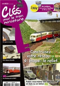 Clés pour le train miniature n° 22