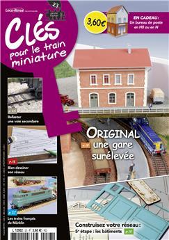 Clés pour le train miniature n° 23