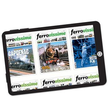 Abonnement Ferrovissime version numérique