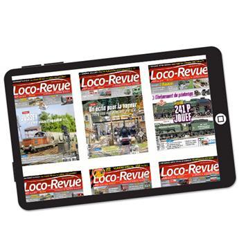 Abonnement Loco-Revue version numérique