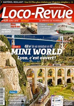 Loco-Revue n°828 juillet 2016
