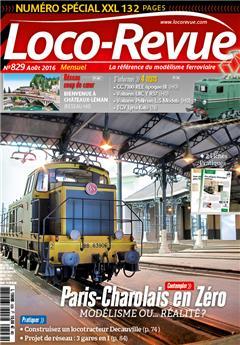 Loco-Revue n°829 août 2016