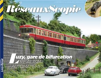 HSLR50 (08/2016) RéseauxScopie - Luzy, gare de bifurcation
