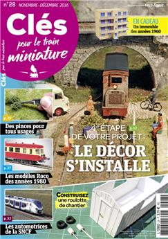 Clés pour le train miniature n° 28