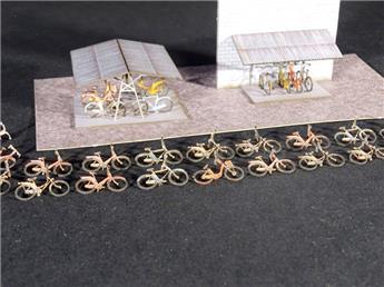2 Garages à vélos + 35 Vélos