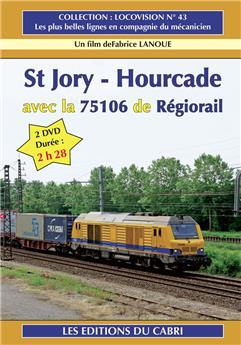 St. Jory – Hourcade avec 75106 de Régiorail 2 DVD
