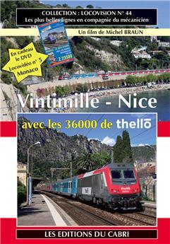 Nice – Vintimille – Nice avec les 36000 de Thello