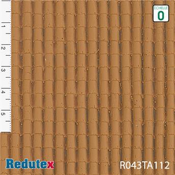 Tuiles canal 1/2 ronde couleur brique