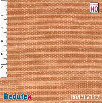 Briques irrégulières rouges